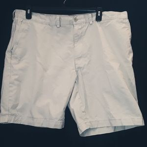 Polo by Ralph Lauren Flat Front Khaki Shorts,  42